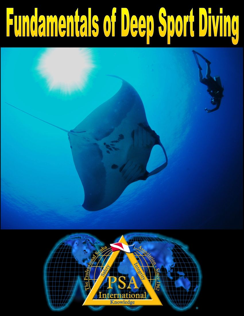 deep sport diving manual