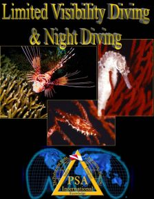 limited visibility & night diving manual
