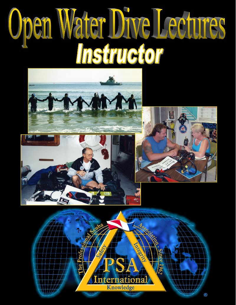 open water dive lectures instructor manual