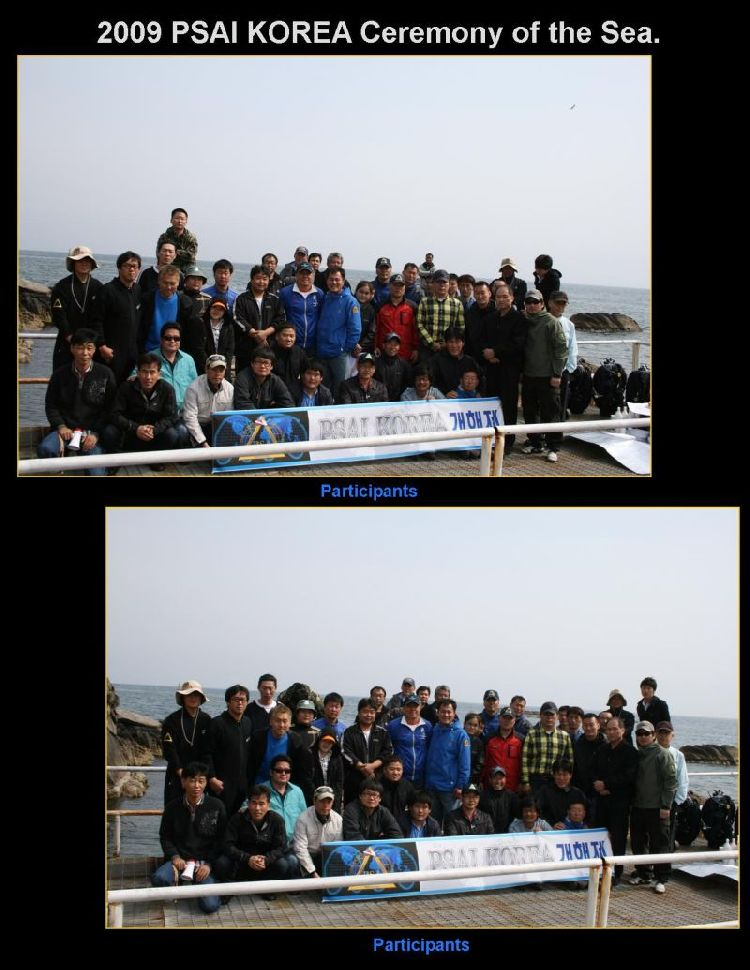 korea ceremony of the sea 2009