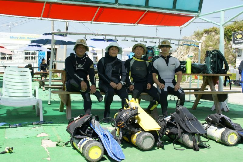 korea independence day dive