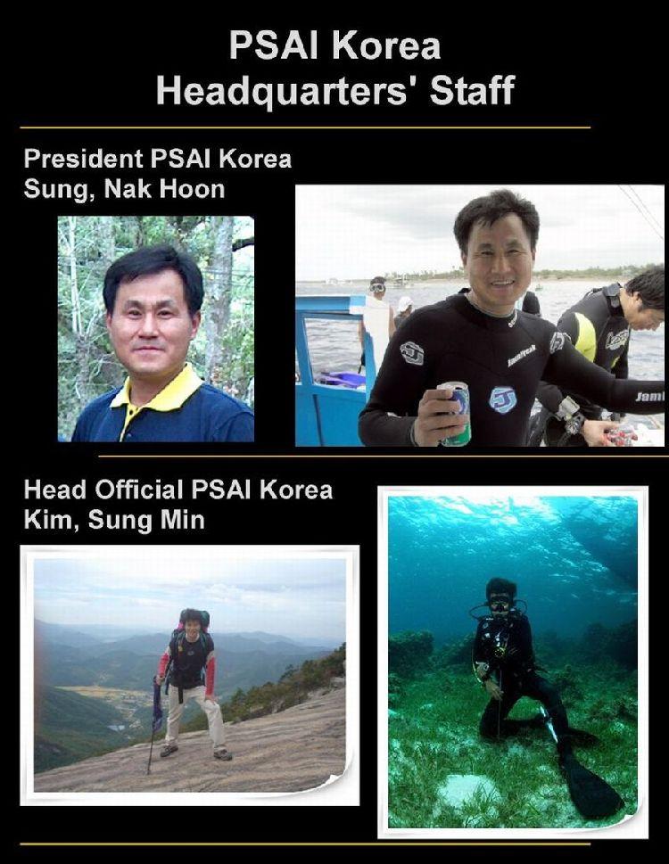 psai korea office staff