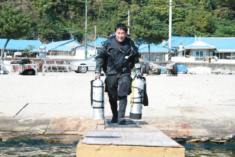 korea trimix training 2009