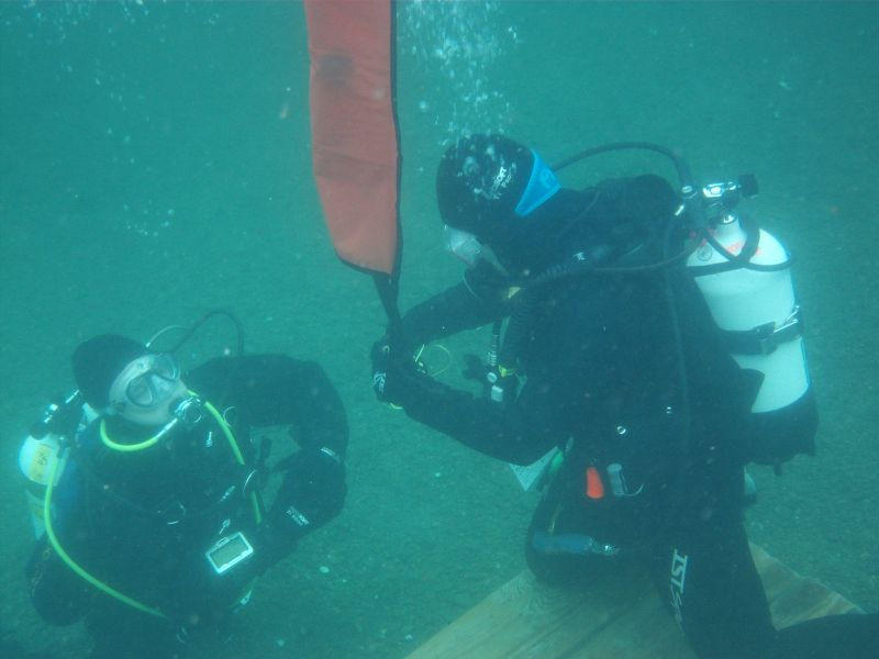 Fundamentals of Deep Sport Diving class