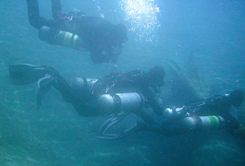 openwater sidemount course