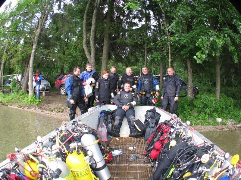 trimix course at hancza lake