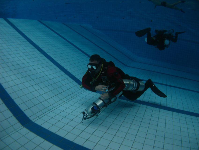 psai poland open water sidemount course