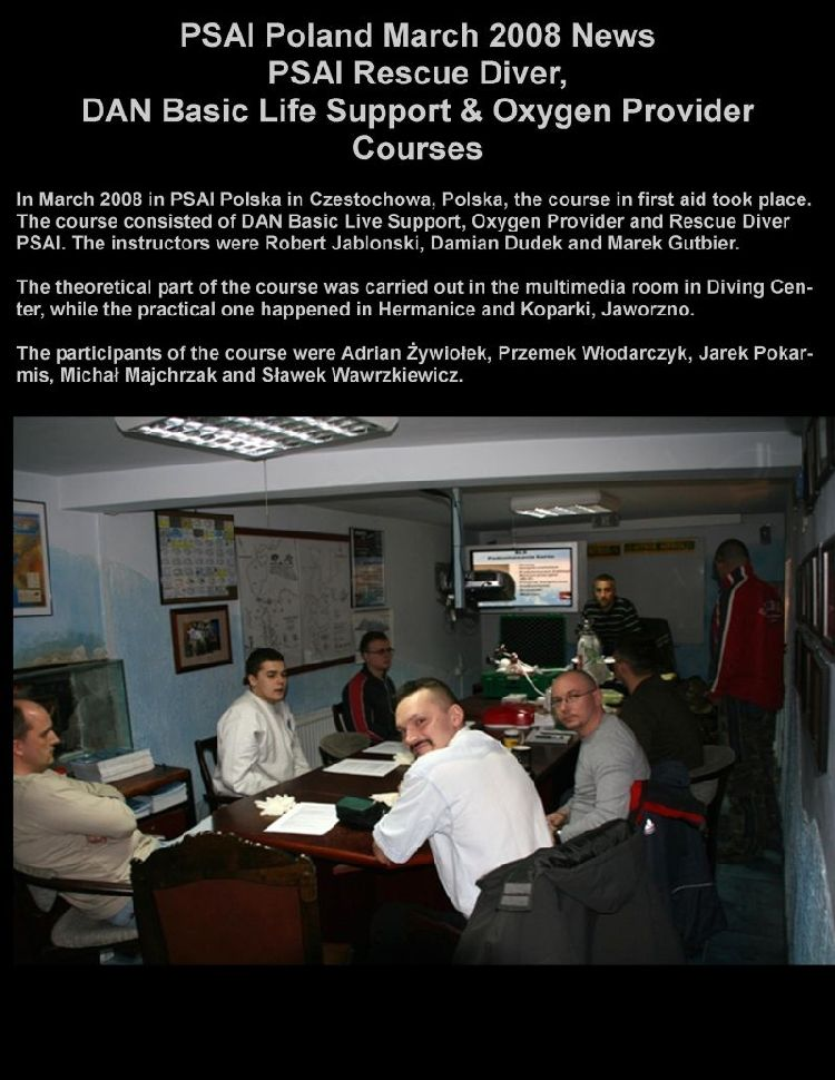 psai poland april 2008 news
