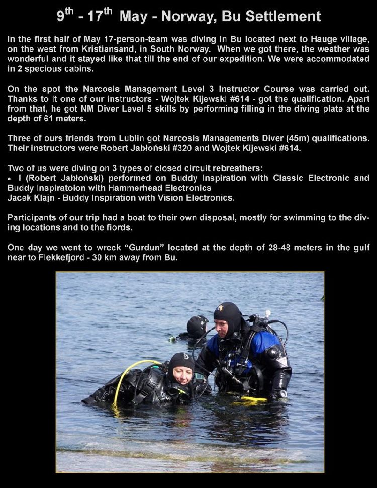 psai poland dive in norway