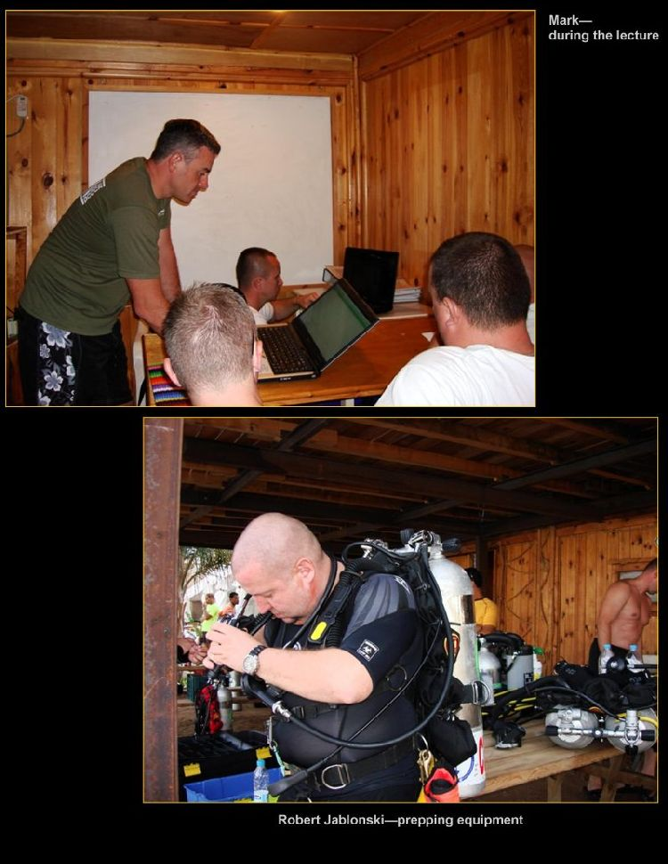 psai poland dive training