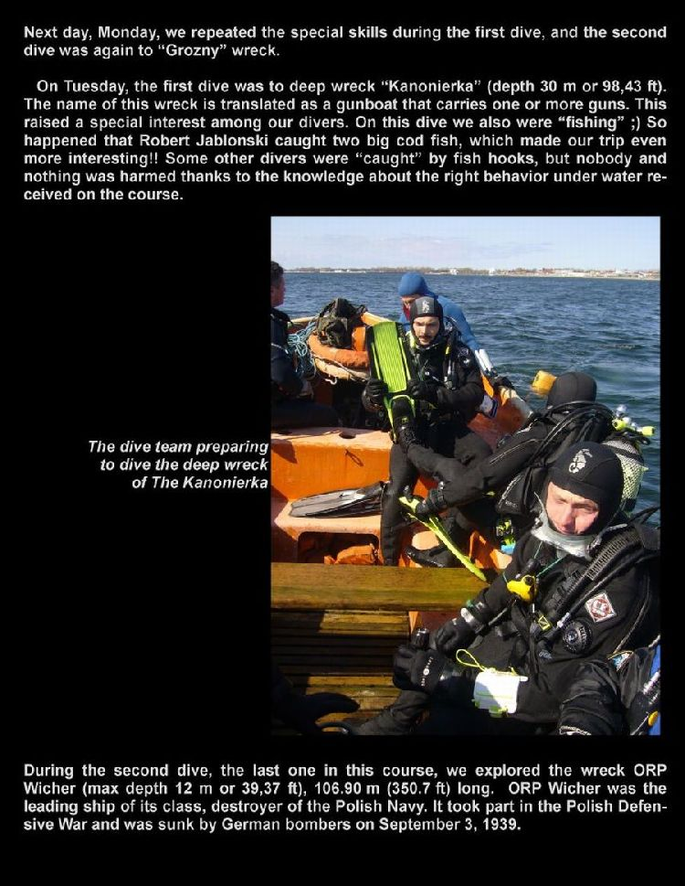 psai poland wreck diving