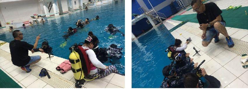 advanced buoyancy control training in wuhan