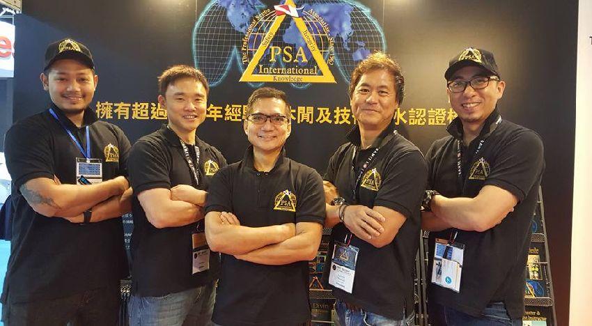 psai china at drt show in hong kong