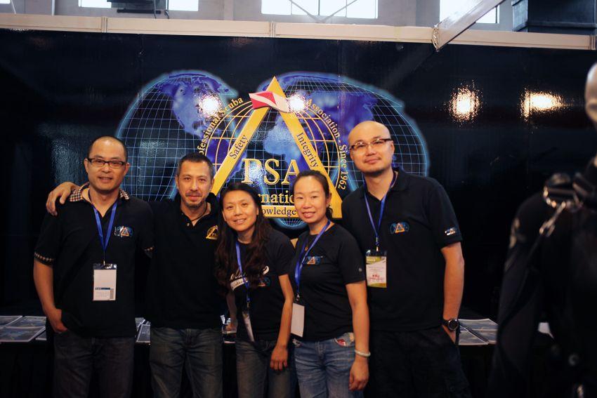 psai china at beijing international dive show