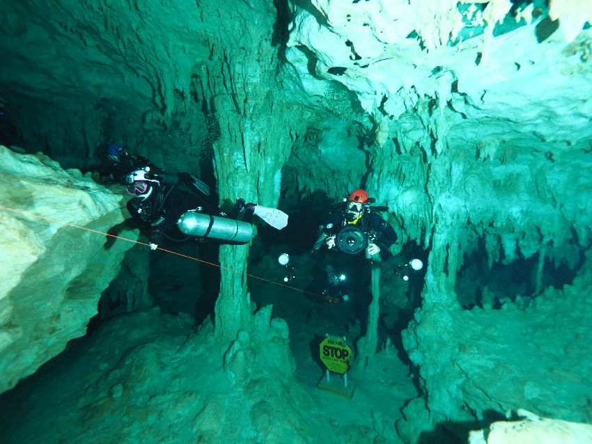 overhead sidemount course in mexico