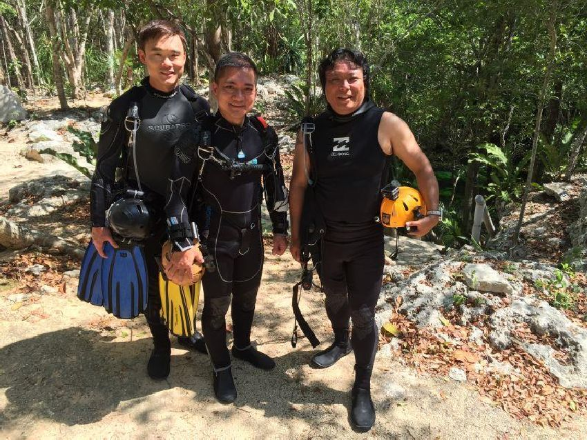 psai china overhead sidemount training in mexico