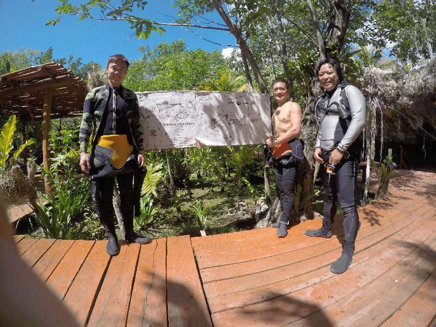 psai china overhead sidemount training in mexico
