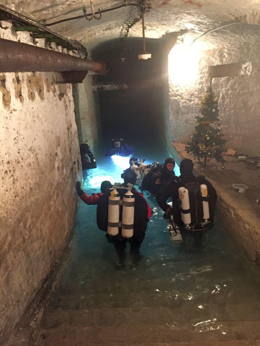 southeast europe chirstmas underground and underwater
