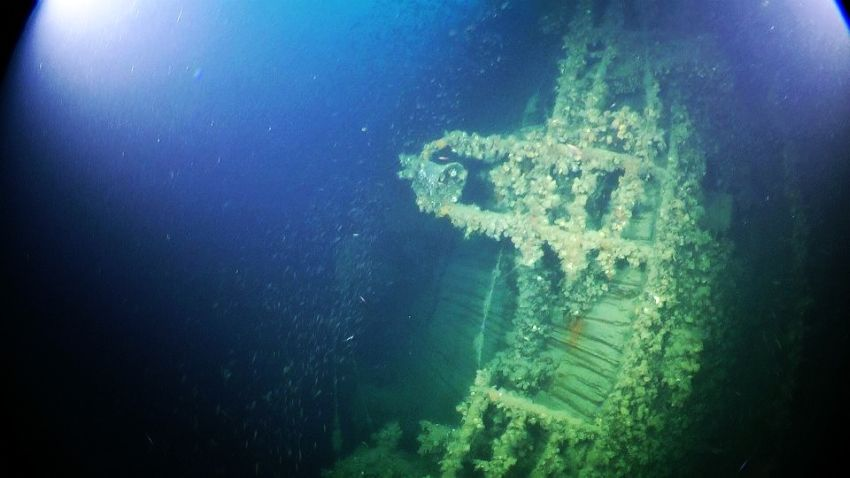 wreck discovery
