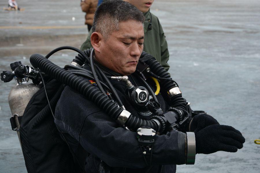 psai korea ice diving festival 2016