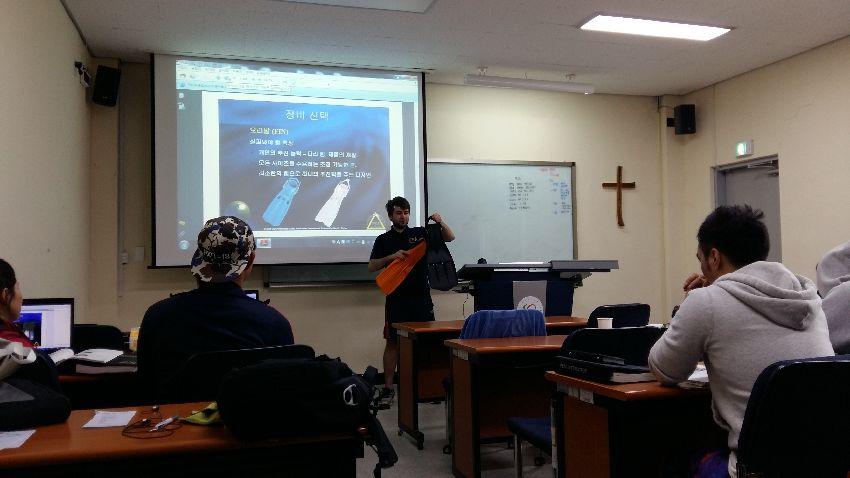 psai korea open water qualification course