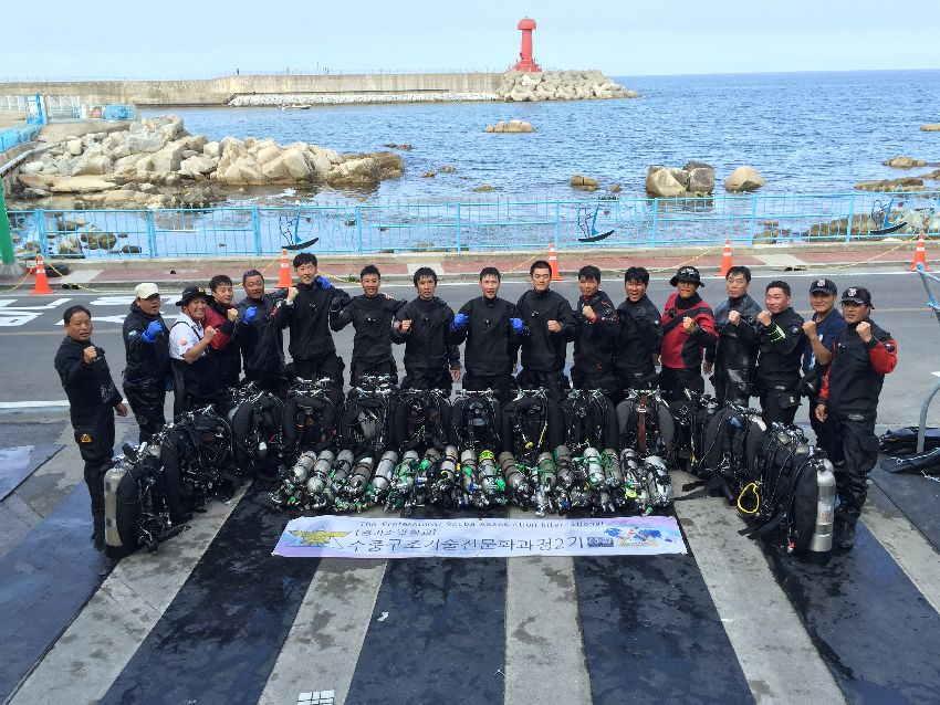 psai korea technical diving programs