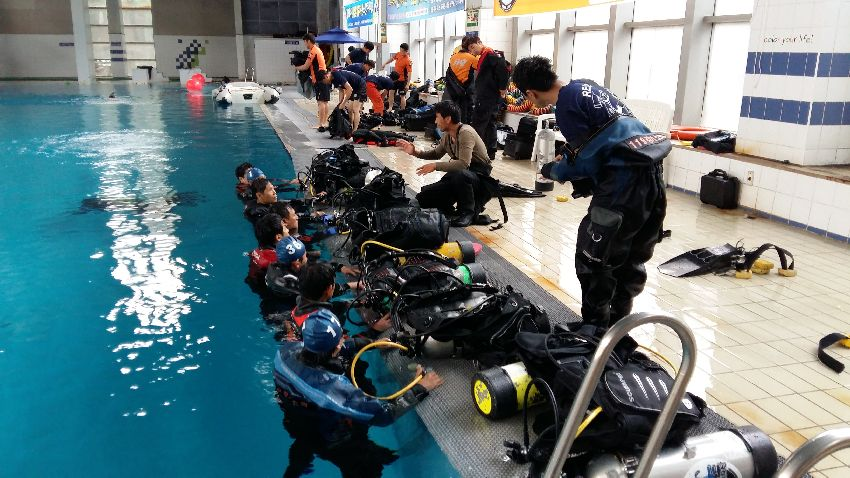 psai public safety diving korea