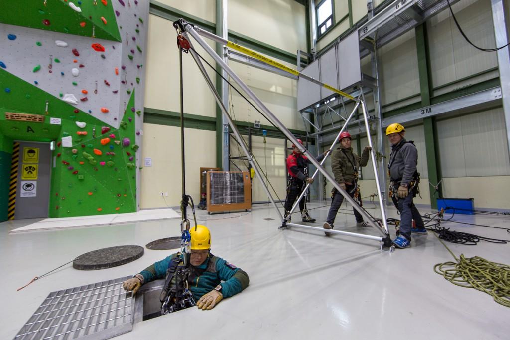 psai korea rope rescue course