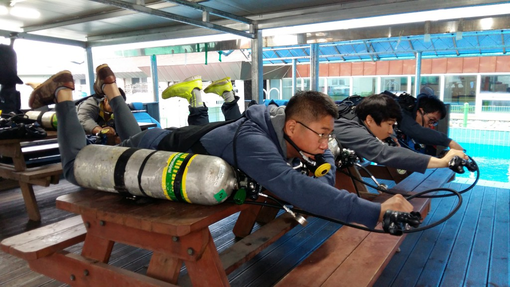 sidemount diving instructor course