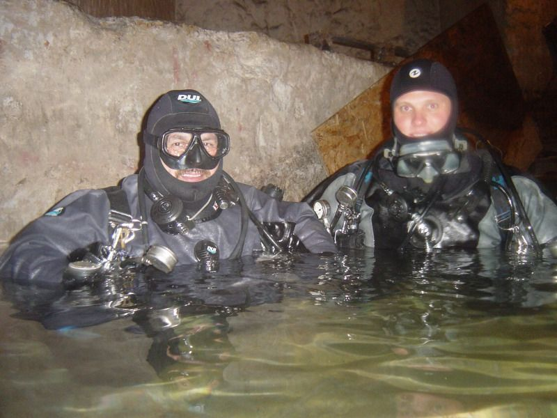 sidemount training at kobanya mine