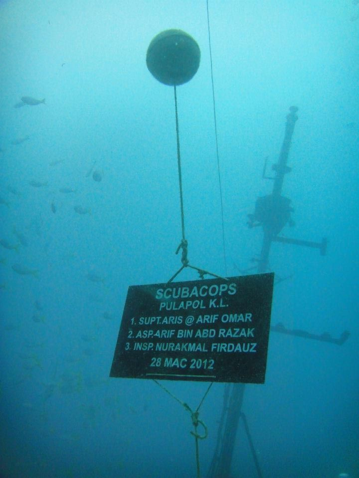 the km sipidan wreck