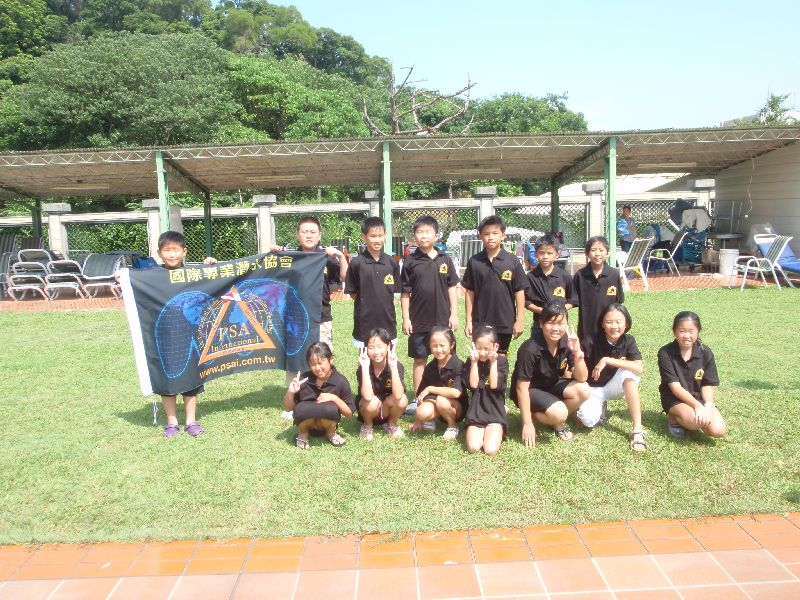 psai taiwan junior skin diving course