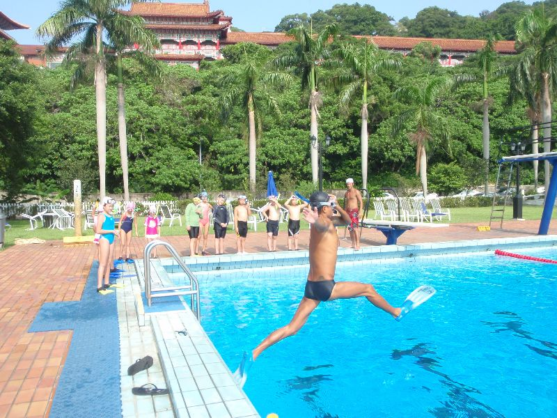 psai taiwan junior skin diving course