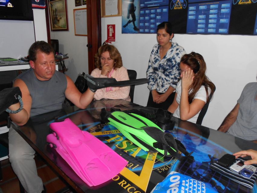 divers in venezuela
