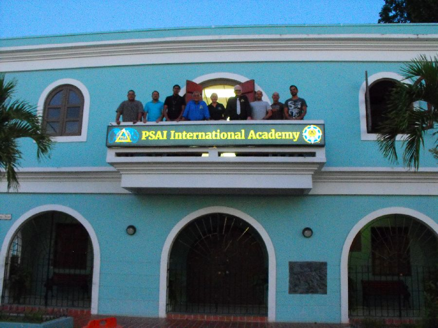 psai academy sign