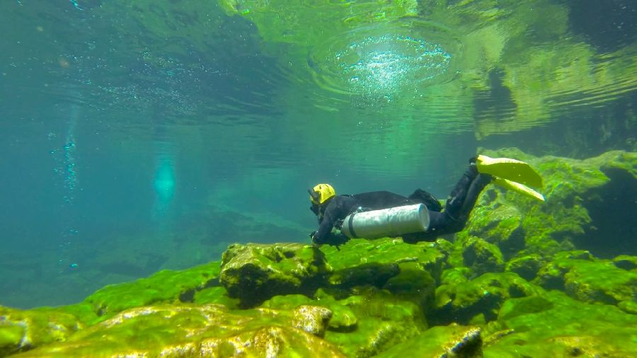 chinese overhead sidemount course in mexico