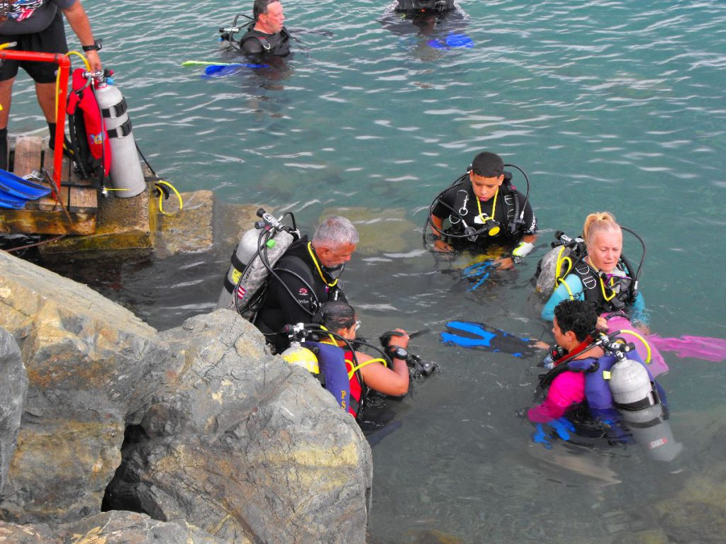 psai academy open water training