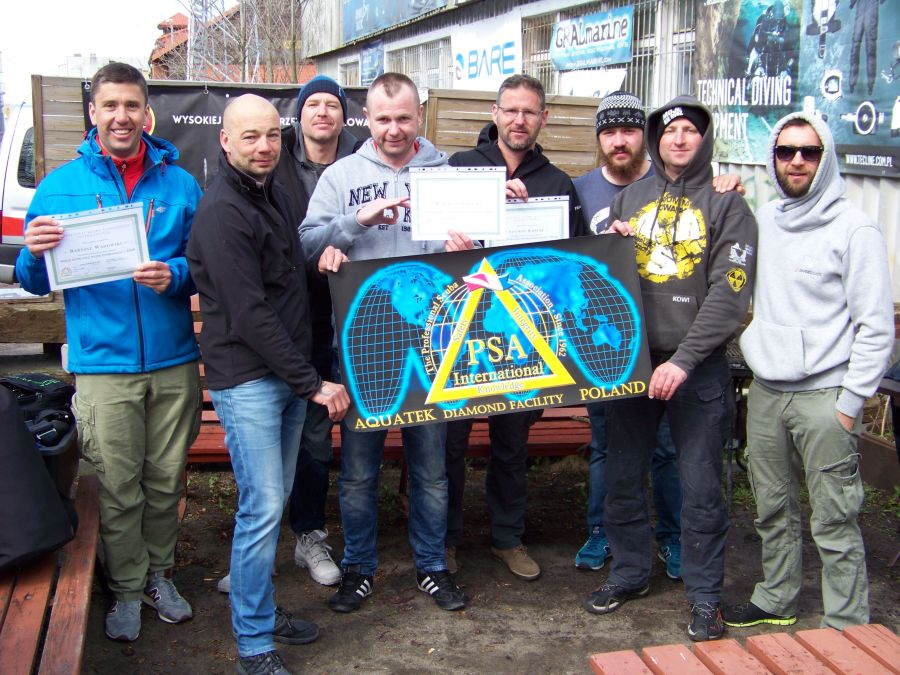 psai poland new wreck instructors