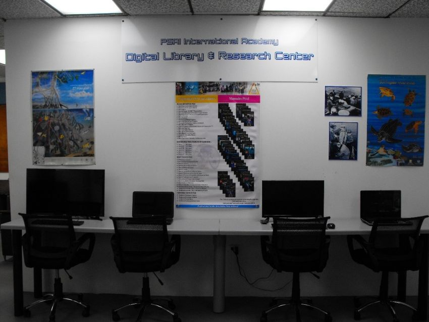 psai international academy digital library