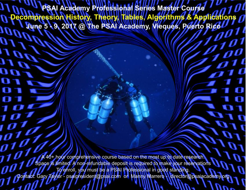 decompression theory master course