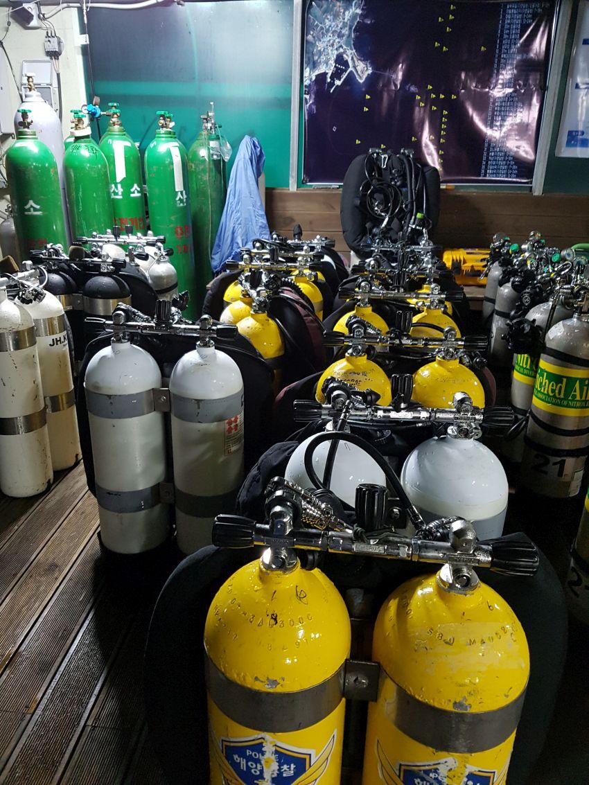 psai korea special rescue unit trimix course