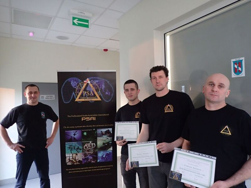psai poland new nitrox instructors