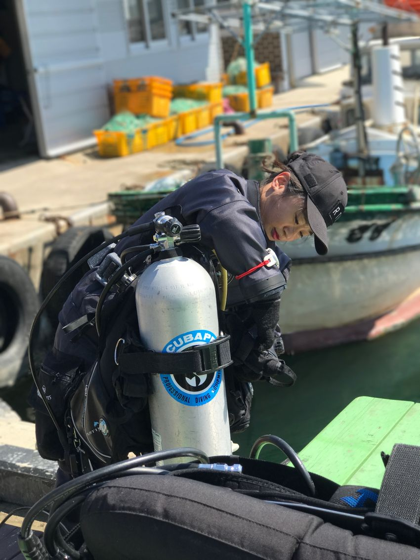 psai korea new year dive