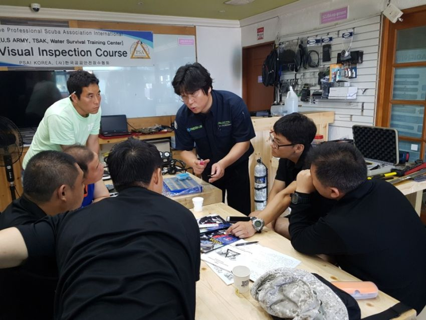 psai korea visual inspection technician course