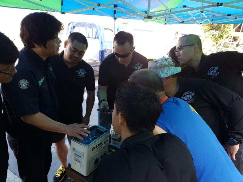 psai korea visual inspection technician course