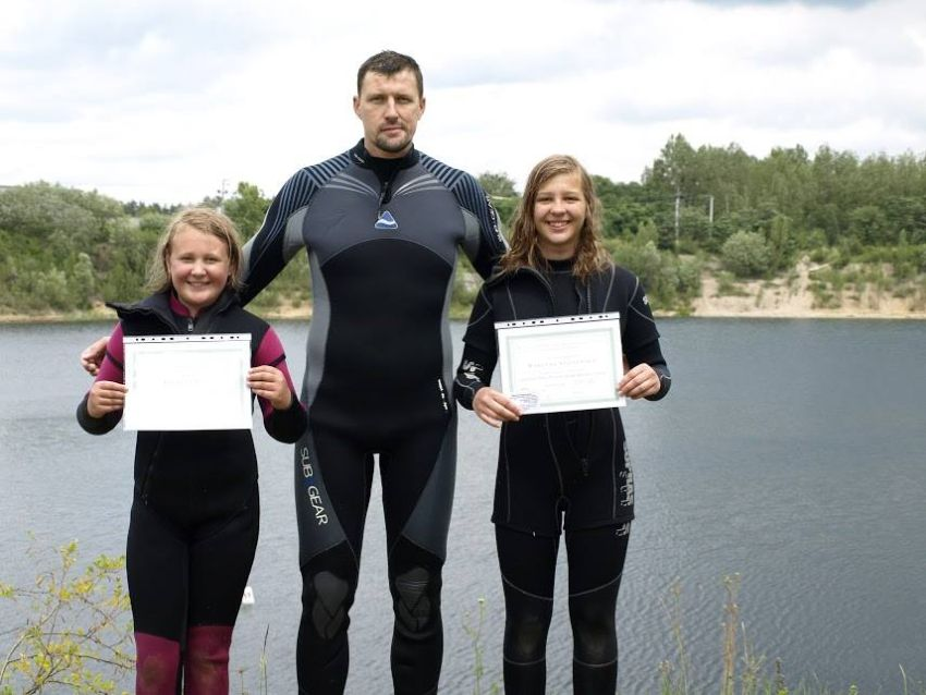 poland sport diving instructor course