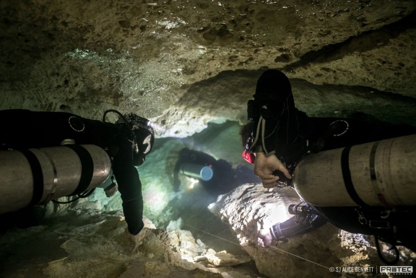 PSAI Mexico Cave Diving