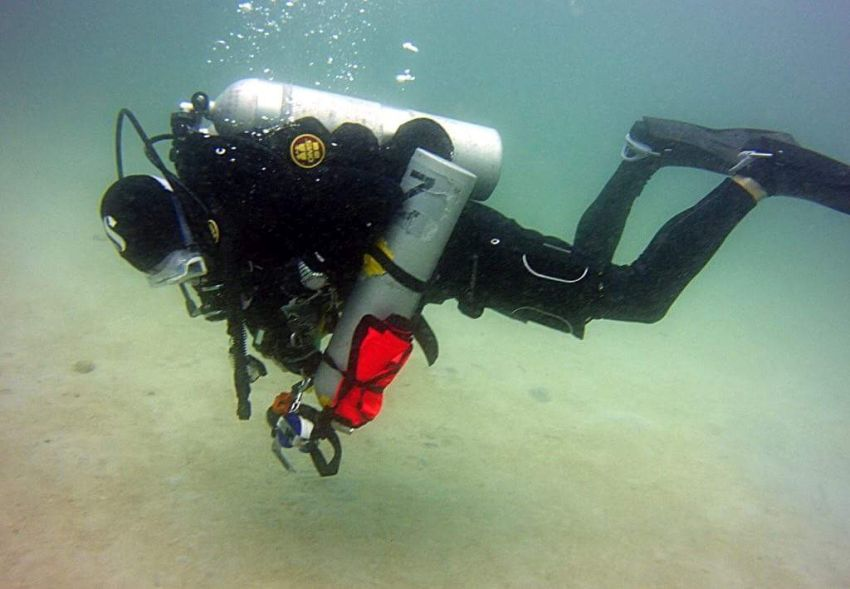 Dave Bell at Puerto Galera