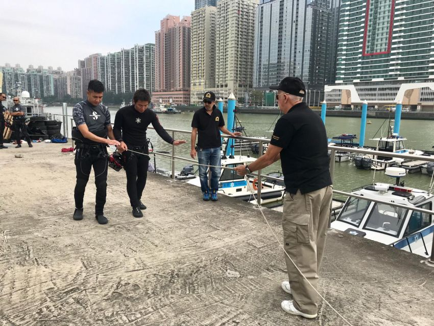 PSAI Macau Security Force Training