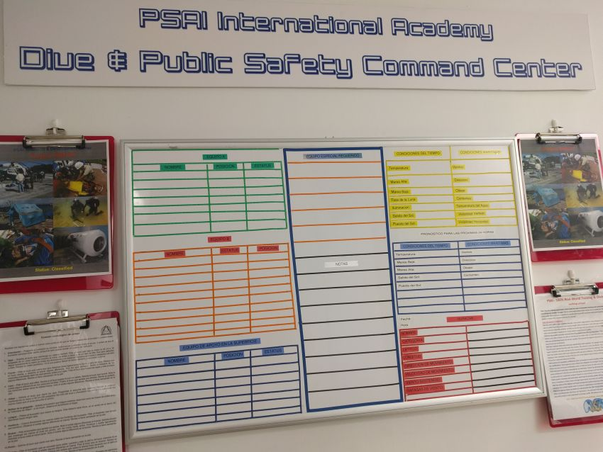 PSAI Academy Command Center